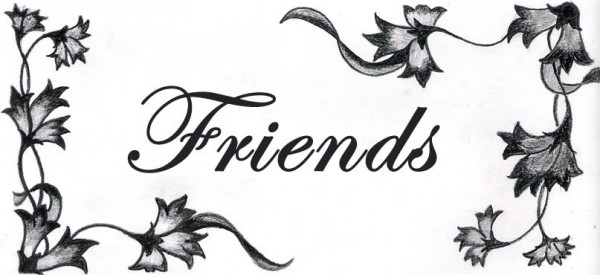 Floral Image of Friends