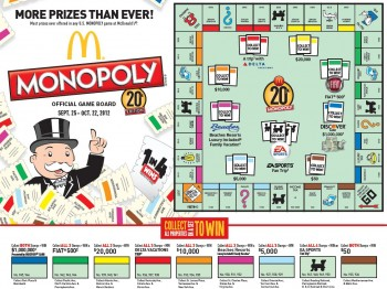 Watch How to Play McDonalds Monopoly video