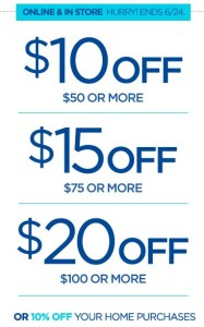 JCPenney $10-$20 off Coupon