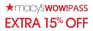 Macy's 15% Off Coupon