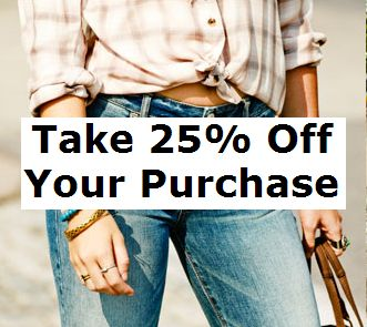 American Eagle 25% Off Coupon