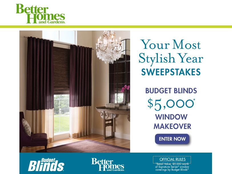 better homes and gardens sweepstakes better homes and gardens your most stylish year 386