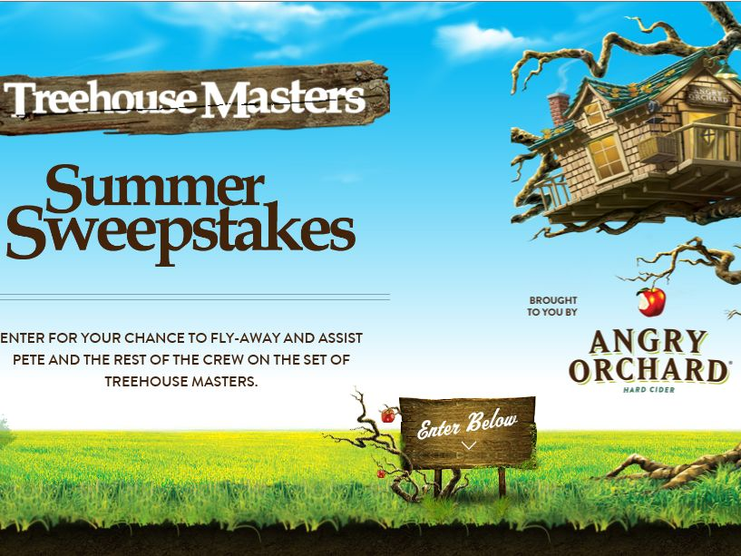 Angry Orchard Treehouse Masters Sweepstakes : Sweepstakes Fanatics