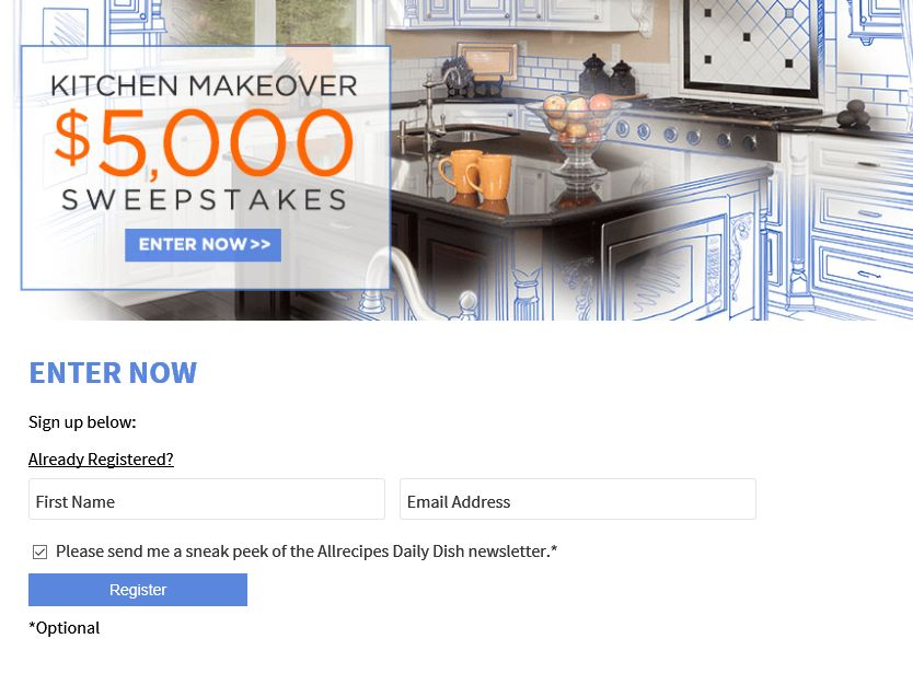 5 000 kitchen makeover sweepstakes sweepstakes fanatics